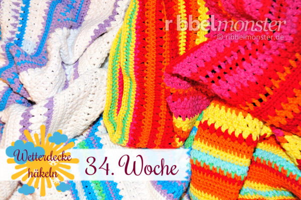 Crochet Weather Blanket – CAL – 34th Week