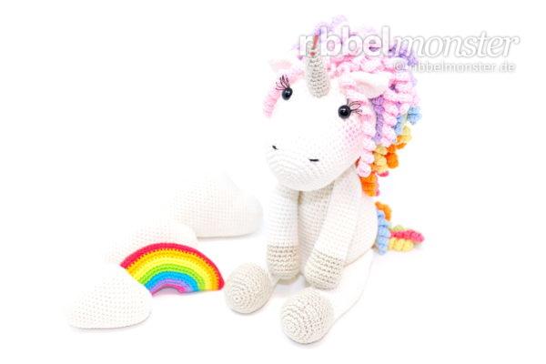 "Amigurumi – Crochet Unicorn ""Hoppala"""